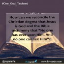 """How can we reconcile the Christian dogma that Jesus is God and the Bible testimony that """"No one has ever seen Him. And no one can see Him""""?!"""