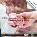 Islam nos orienta a respeitar e cuidar de nossos pais e os idosos.